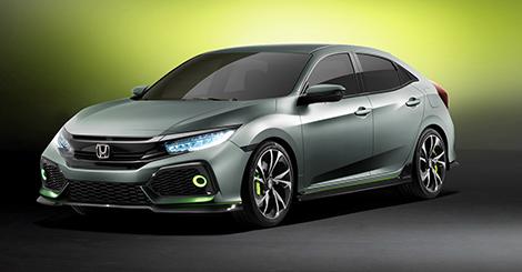 Honda, Civic Hatchback prototipini ve gamını gözler önüne serdi