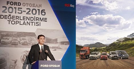 Ford Otosan, Türkiye'nin ihracat lokomotifi, ticari araçta Türkiye ve Avrupa lideri
