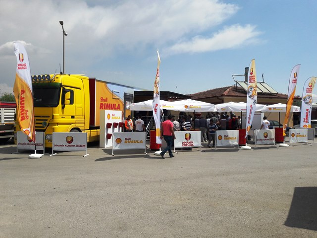 Shell Rimula, 18 Şehirde 4000 Sürücüyle Bir Araya Geldi