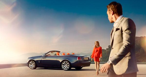 Güneş Bu Kez Rolls-Royce Dawn için Doğuyor