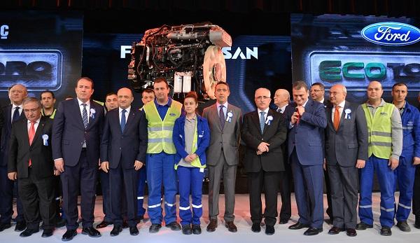 Ford Otosan Ecotorq E6 ile Büyük Teknoloji Ödülünü Kazandı