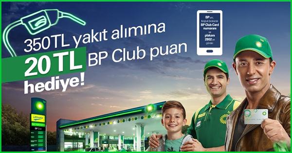 BP'den Hediye Yakıt Kampanyası