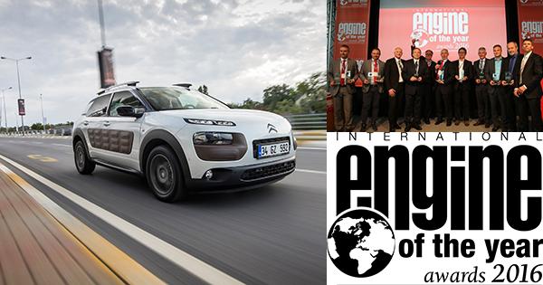 """Citroën C4 Cactus'ün 1.2 Puretech Motoru İkinci Kez """"Yılın Motoru Ödülü""""Nü Kazandı"""
