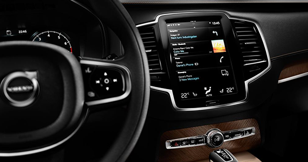 Volvo 'nun Navigasyon Seçimi Tomtom