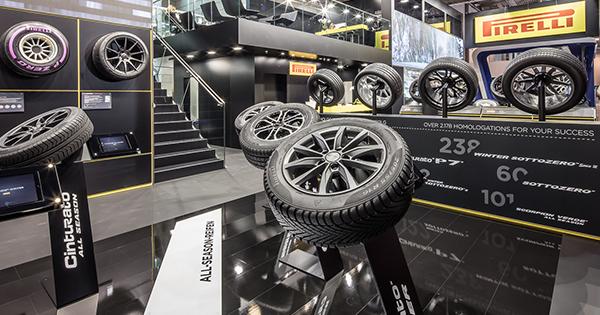 Pirelli, Reifen Fuarı'nda En Yeni Teknoloji ve Ürünlerini Tanıttı
