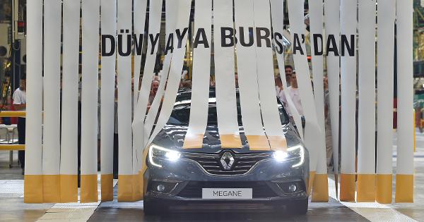 Dünyaya Bursa'dan: Yeni RENAULT MEGANE Sedan