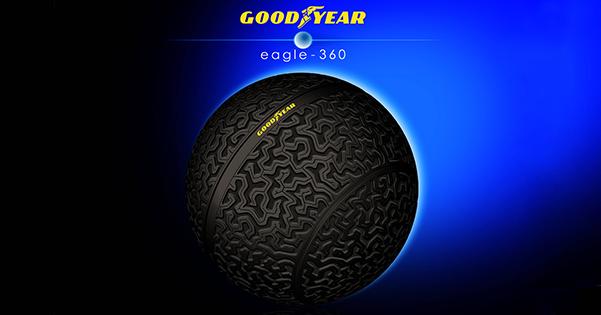 Goodyear Eagle-360 2016'nın en iyi buluşları arasında