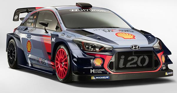Hyundai Motorsport, 2017 i20 Coupe WRC'yi Tanıttı