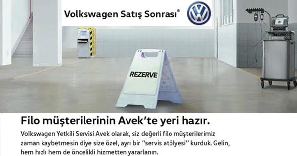 Türkiye'nin ilk Volkswagen Filo Servisi