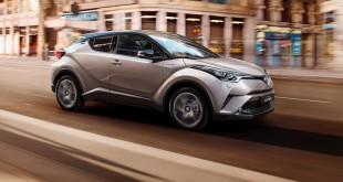 Toyota C-HR test