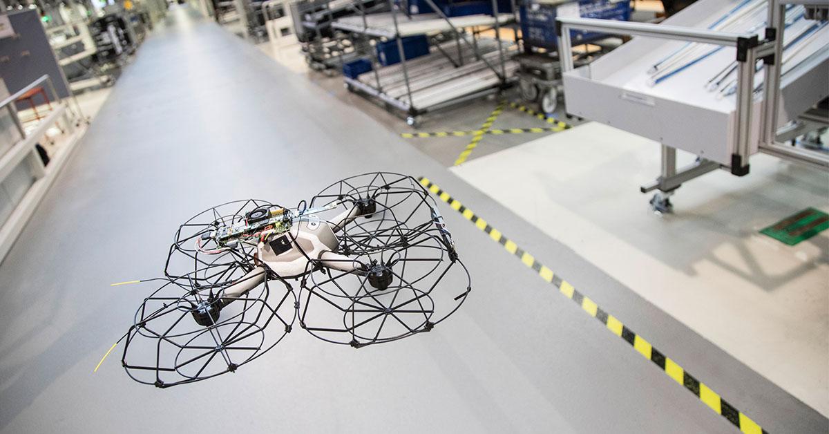 Otomobil üretiminde drone devri başlıyor!
