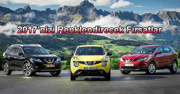 Şubat Ayında 2017'nizi Renklendirecek Özel Fırsatlar Nissan 'da Sizleri Bekliyor!
