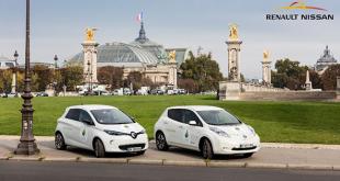 renault nissan elektrikli otomobil