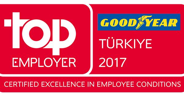 Goodyear 3. Kez En İyi İşveren Ödülü'ne Layık Görüldü