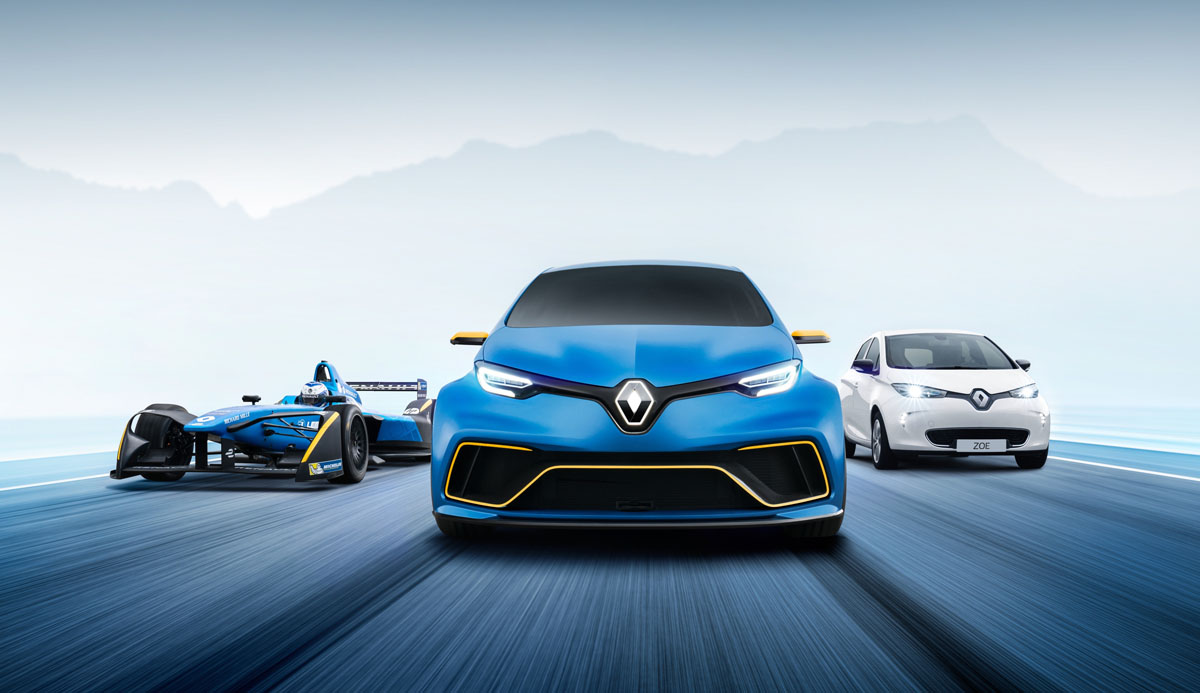 Renault Zoe E-Sport ve Yeni Captur Konsepti ile Cenevre'de