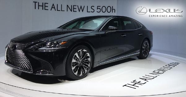 Lexus LS 500h'nin Dünya Lansmanını Gerçekleştirdi