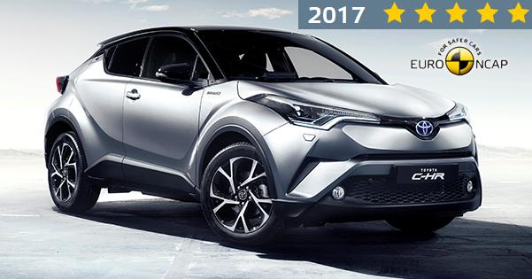 Yeni Toyota C-HR'a Euro NCAP 'ten 5 Yıldız