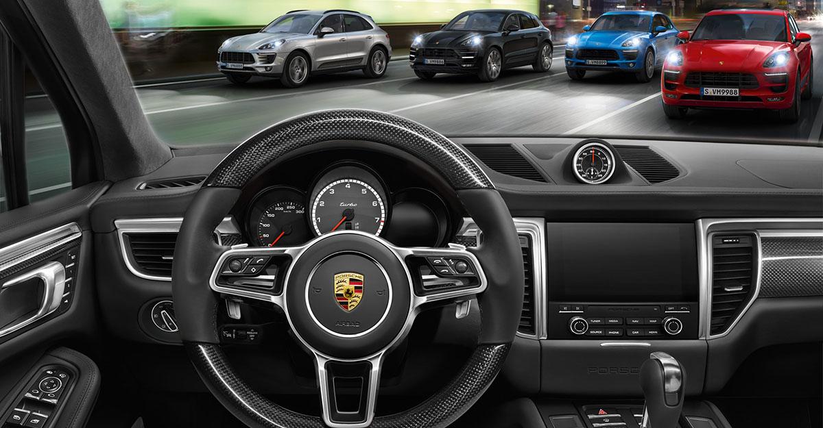 Porsche Prestijini Macan Ailesi ile Yaşayın