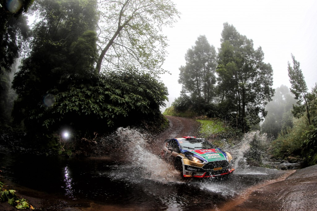during the 2017 European Rally Championship ERC Azores rally,  from March 30  to April 1, at Ponta Delgada Portugal - Photo Jorge Cunha / DPPI