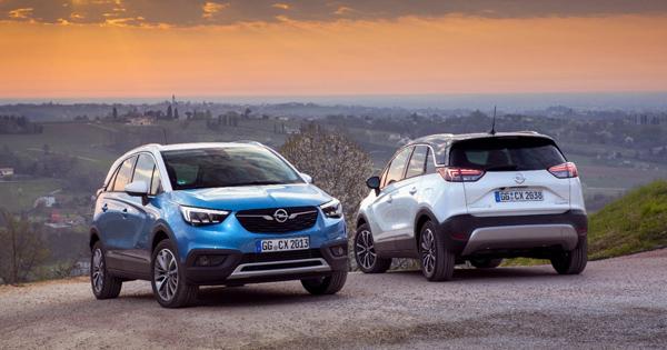 Opel'den Şehirli Crossover: Yeni Crossland X