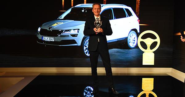 Skoda'nın Yeni SUV'u Karoq, Altın Direksiyon Ödülü'nü Aldı