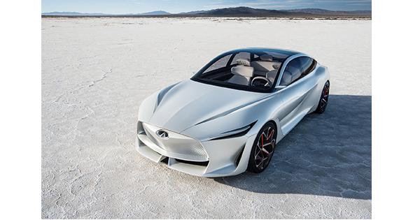 INFINITI Q Inspiration Concept Detroit Otomobil Fuarı'nda