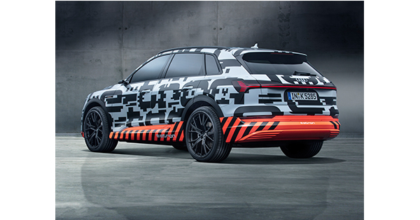 Audi elektrikli SUV'unun test sürüşlerine başlıyor