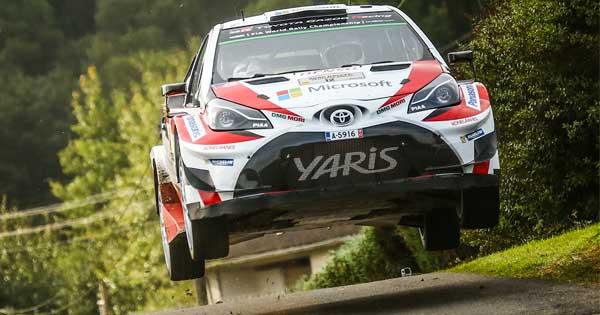 Toyota'nın Hedefi İspanya Rallisi'nde Liderliği Korumak