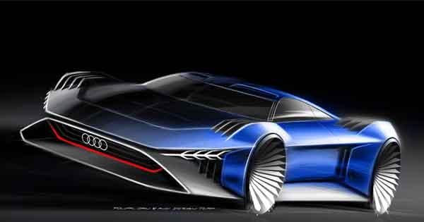 Audi'den animasyon film için  konsept otomobil